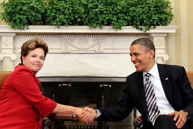 Dilma e Obama