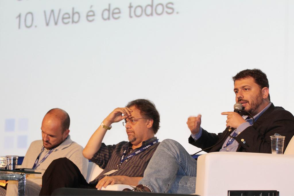Debate: O Fim da Internet, com Reinaldo Pamponet Filho, Vagner Diniz e Pedro Dória - Campus Party Brasil - 21/01/2011 - Foto: Flá via de Quadros/indicefoto.com